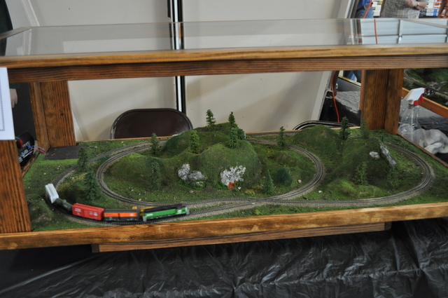 JJ&J showed off several of their coffee table displays